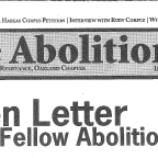 First Issue of  The Abolitionist, Spring 2005